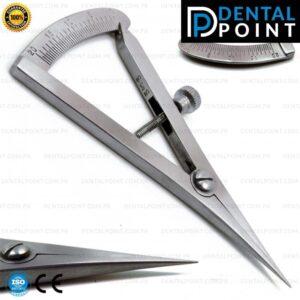 Castroviejo Caliper Straight 0-20 mm