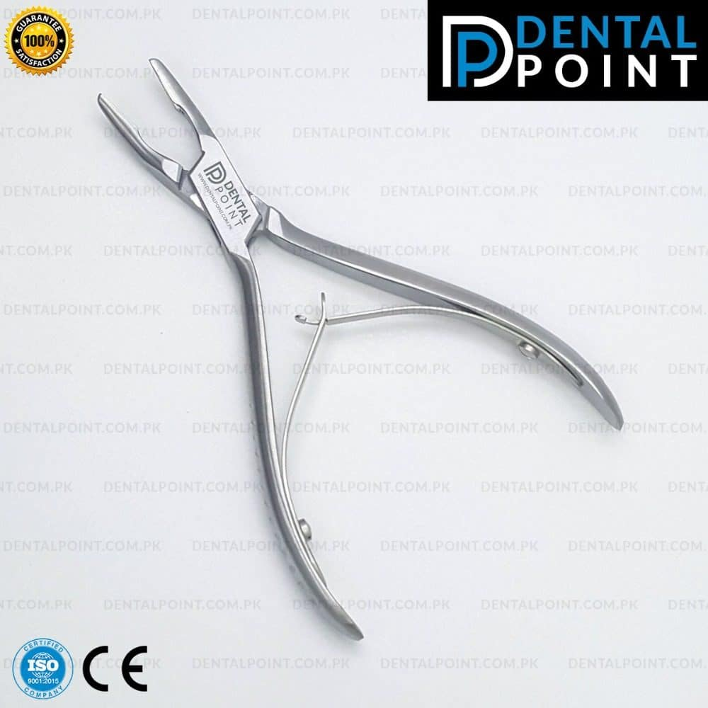 Bone Rongeur Plier Curved Orthodontic Pliers