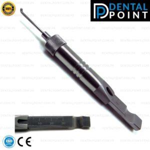 Depth Gauge 0mm to 30mm Orthopedic Measuring Dental Instruments